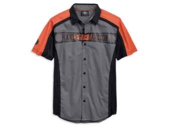 Shirt-Performance,S/S,Wvn,Clrb