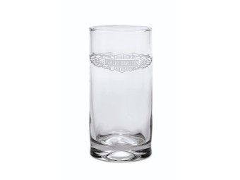 GLASS-COOLER,WINGED LOGO