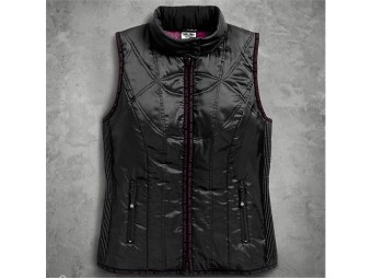VEST-OUT,LIGHTWEIGHT,HOODED,PU