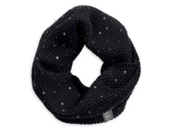 SCARF-KNIT,SEQUIN,INIFINITY