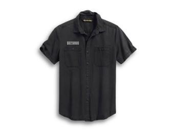 Shirt-Woven,brown