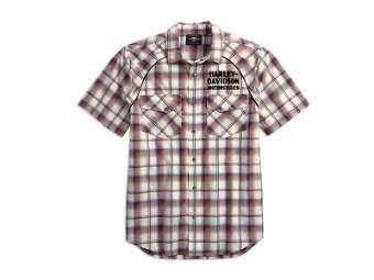 Shirt-Upright Eagle,S/S,Wvn,Pl