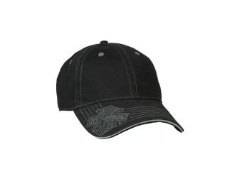 Cap Black Brushed