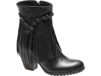 """Harley Davidson Damenstiefel """"Retta"""" Schwarz Boots"""