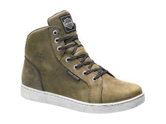 D97134 Mitric Olive Wasserdicht Sneacker High-Top Schuh