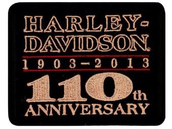 Aufnäher 110th Anniversary
