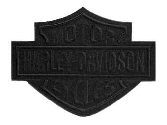 """Aufnäher """"Bar&Shield"""", schwarz, L"""