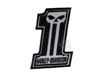 Emblem #1 Skull Reflective