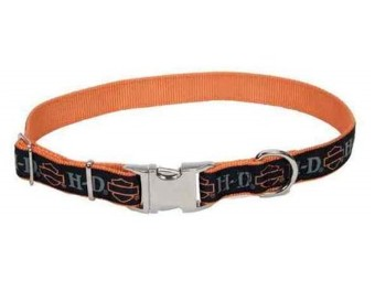 Adj. Collar B&S Orange (1,59 x 20-30