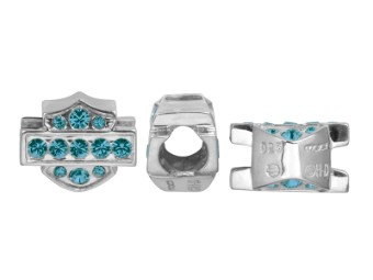 Ride Bead Blue Crystal B&S