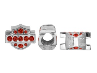 Ride Bead Red Crystal B&S