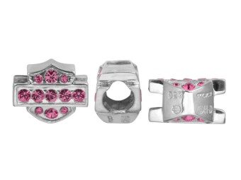 Ride Bead Pink Crystal B&S