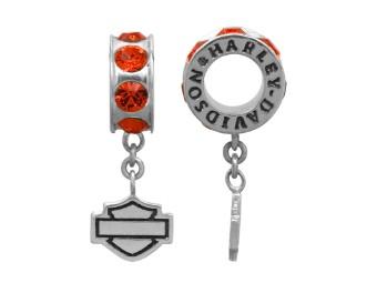 Ride Bead Orange Spacer Ride