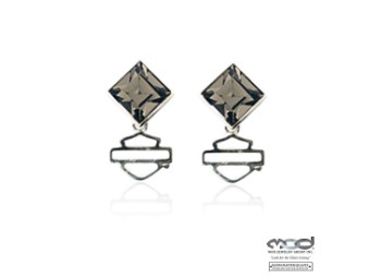 Ohrstecker Black Ice Diamond