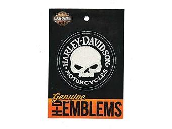 Antique Willie G Skull Emblem