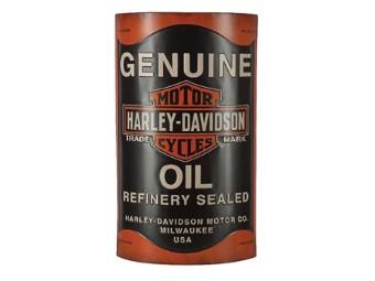 Metallbild Oil Can