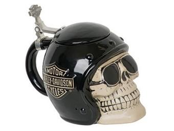 H-D Skull Rider Stein