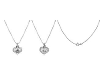 Halskette Sacred Heart