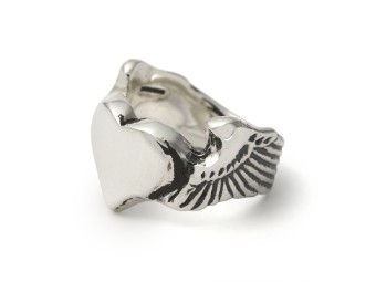 Winged Heart Ring 7