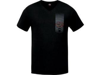 Shield Direction V-Neck Shirt