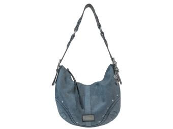 Handtasche Stonewashed Blue