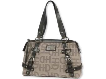 Handtasche Tan H-D Classique