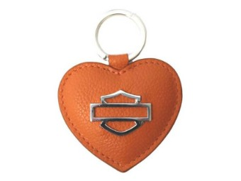 Heart B&S Medallion Key Fob
