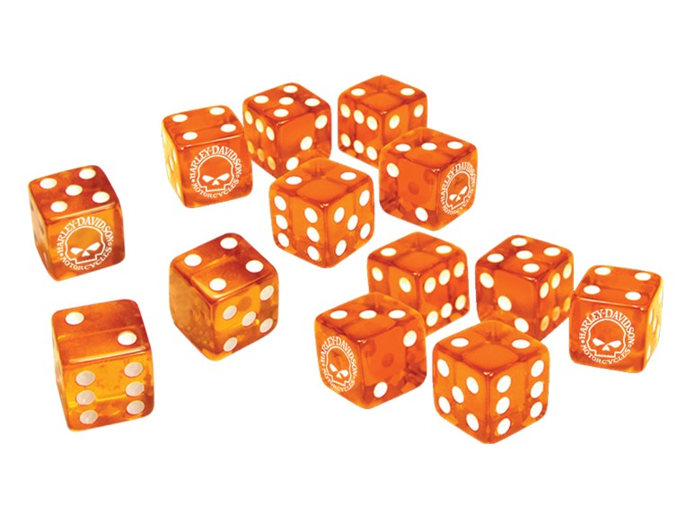 681, Würfel Orange