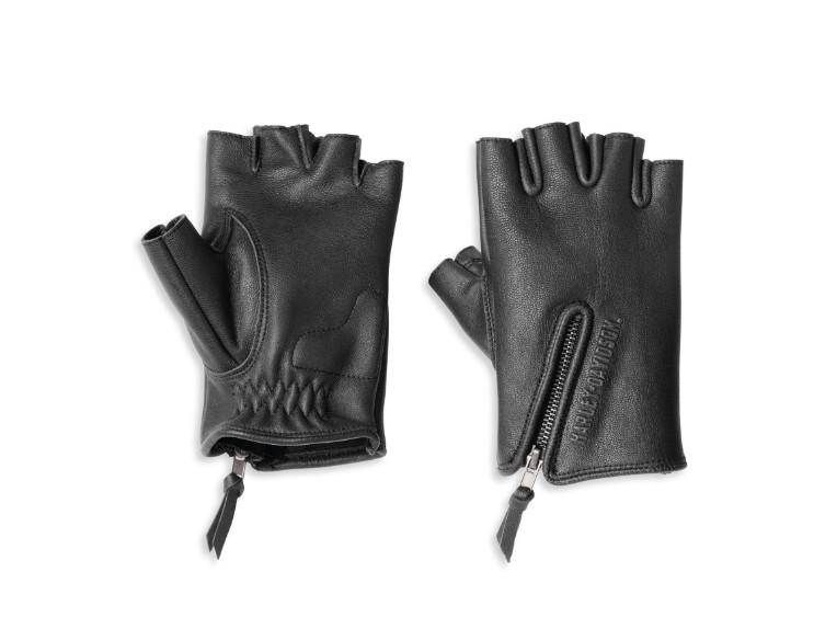 97118-22VW/000L, Gloves-F/L,Edge Cut,Leather,BL