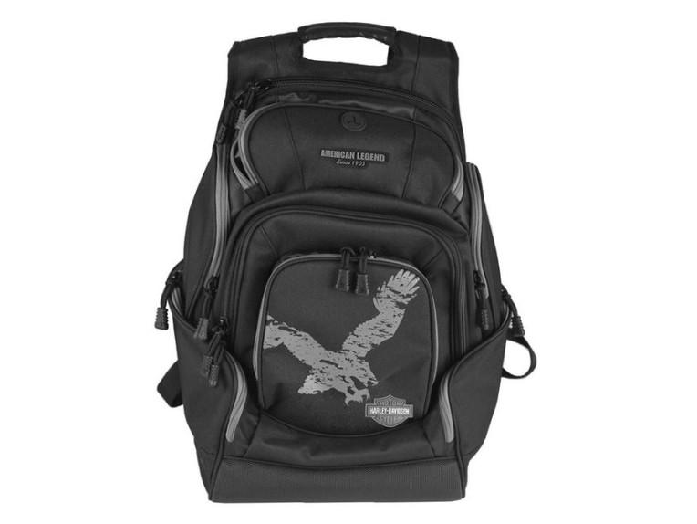 BP1914S-GRYBLK, Eagle Delux Backpack