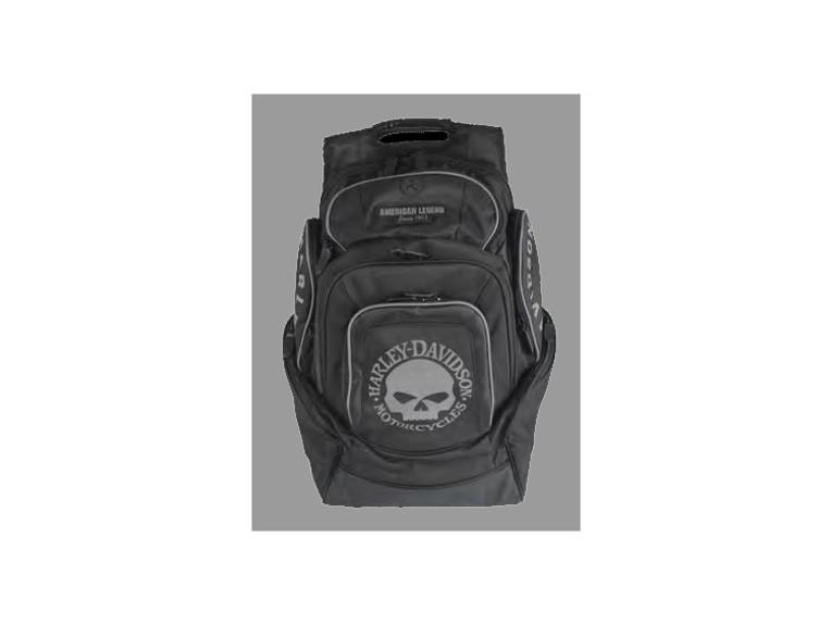 BP1924S-BLACK, Skull Deluxe Back Pack