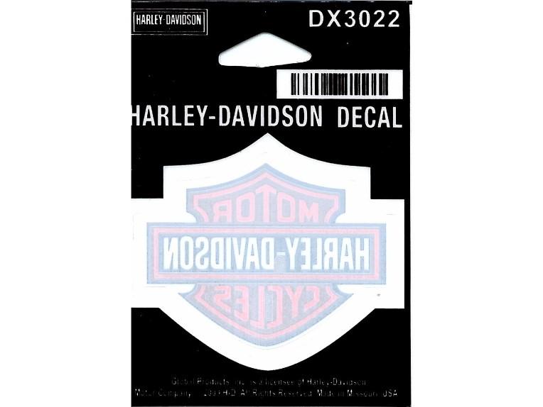 DX3022, Decal, Inside, Bar & Shield, SM, 2 1