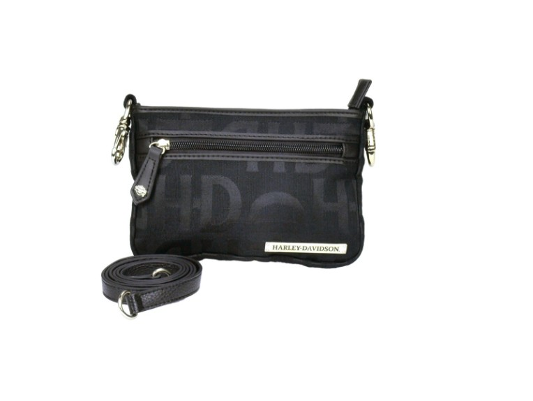HD3492J-BLACK, Black HD Jacq Hip Bag