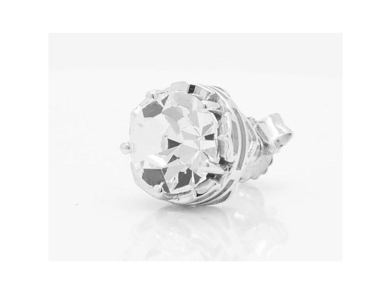 HDE0421, Big Bling Clear Crystal Earrings