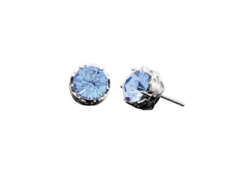 HDE0425, Bling Light Sapphire Color Crystal
