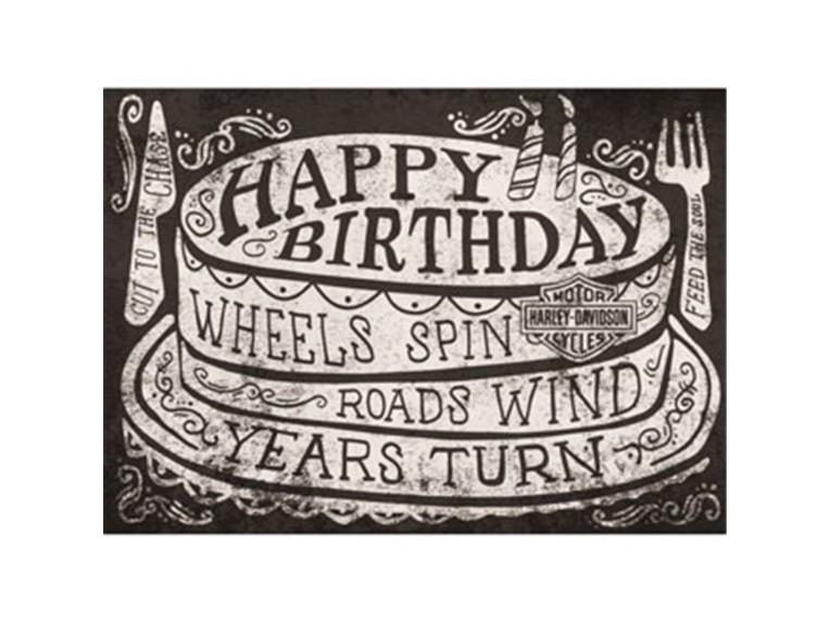 HDL-20051, Birthday Card Roll On