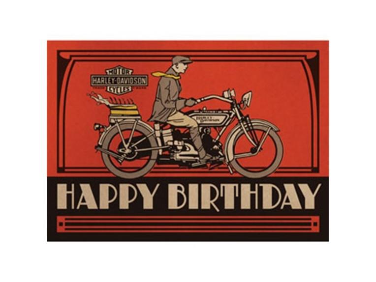HDL-20067, Birthday Cake Bithday Card