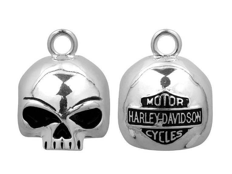 HRB020, Round Willie G Skull Ride Bell