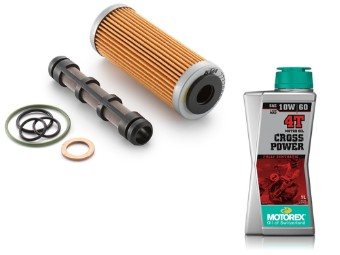 Ölfilter Service Kit 250/350 EXC-F SX-F Freeride  Bj. 11-18