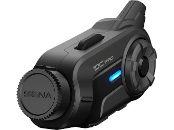 Headset Sena 10C Pro Bluetooth-Kommunikationssystem mit integrierter Actioncam