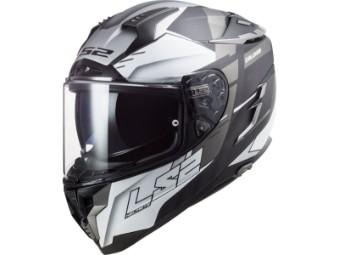 Helm - FF327 Challenger allert matt titan silver
