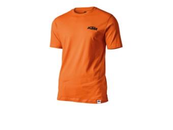 Racing Tee orange - T-Shirt kurzarm