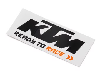 Logo Sticker black/white - Aufkleber schwarz/weiß