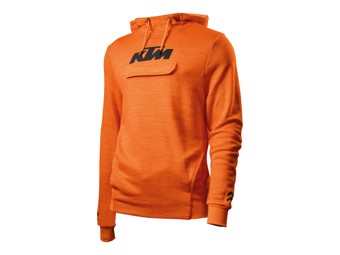 Pure Hoodie orange - Langarm Shirt