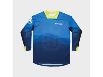 Gotland Shirt blue - Langarm Shirt