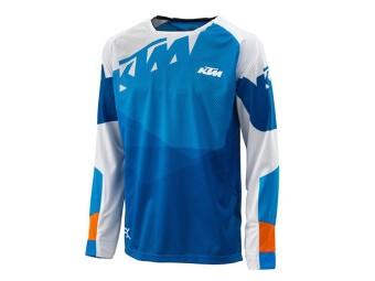 Gravity-FX Shirt blue - langarm