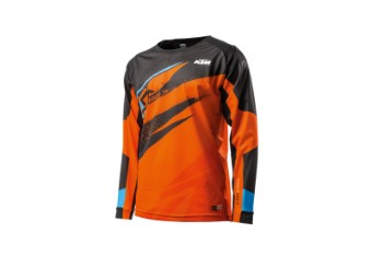 Gravity-FX Shirt orange - langarm