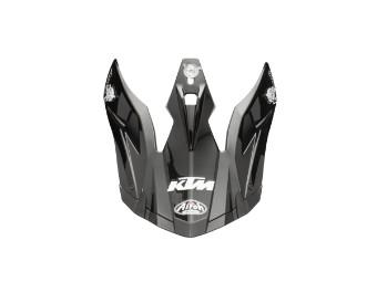 Aviator Helmet Shield Black 19 - Helm Schild