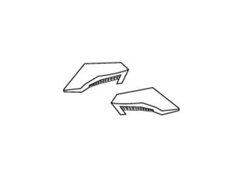 Comp Light Helmet Backvents