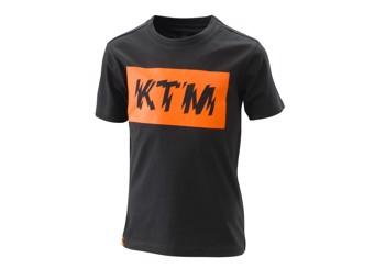 Kids Radical Logo Tee - Black - T-Shirt